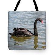 Black Swan Square Tote Bag