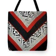 Black Thai Fabric 01 Tote Bag