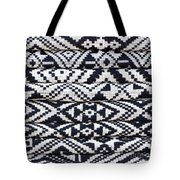 Black Thai Fabric 02 Tote Bag