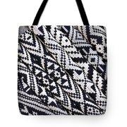 Black Thai Fabric 03 Tote Bag