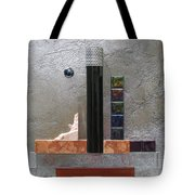 Black Tower Tote Bag