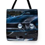 Black Truefiber Mustang Tote Bag