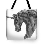 Black Unicorn Tote Bag