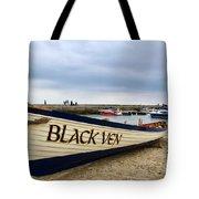 Black Ven Tote Bag