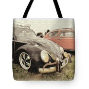 Black Vw Tote Bag