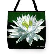 Black Water Beauty Tote Bag