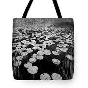 Black Water Tote Bag