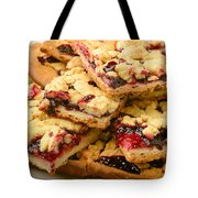 Blackberry Grated Pie Closeup Tote Bag
