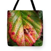Blackberry Leaf In The Fall 4 Tote Bag