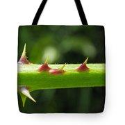 Blackberry Thorns Tote Bag