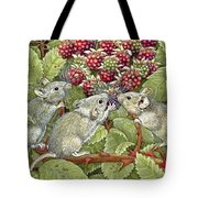 Blackberrying Tote Bag
