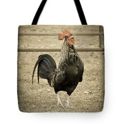 Blackbird Crowing Tote Bag