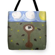 Blackbirds Tote Bag by Patrick J Murphy