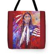 Blackfeet Tote Bag