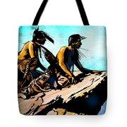 Blackfeet Scouts Tote Bag