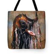 Blackfoot Medicine Man Tote Bag