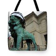 Blackhawks Lion Tote Bag