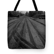 Blackout On Jordan Street Tote Bag