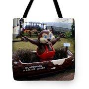 Blackpool Pleasure Beach Lancashire England Tote Bag