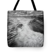 Blackpool Promenade Tote Bag