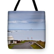 Blackrock Lighthouse, Off Rosses Point Tote Bag