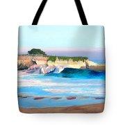 Blacks Beach - Santa Cruz Tote Bag