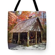 Blacksmith Shop In The Fall Tote Bag