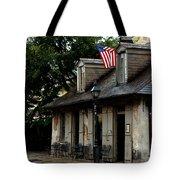 Blacksmith Shop On A Rainy Day Tote Bag
