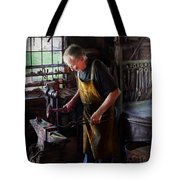 Blacksmith - Starting With A Bang  Tote Bag