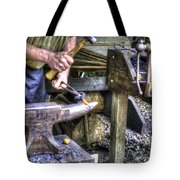 Blacksmith Working Iron V1 Tote Bag