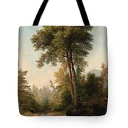 Blacksmiths Forge By The Stream Tote Bag