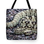 Blacktailed Rattlesnake Tote Bag