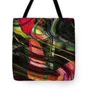 Blades In The Layered Worlds Tote Bag