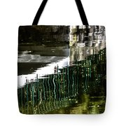 Blades Submerged Tote Bag