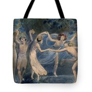 Blake: Fairies, C1786 Tote Bag