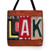 Blake License Plate Name Sign Fun Kid Room Decor Tote Bag