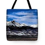 Blanca Mountains Near Fort Garland Colorado Tote Bag