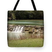 Blanco River Weir Tote Bag