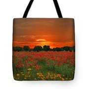 Blaze Of Glory Tote Bag