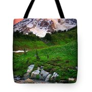 Blazing Dawn Tote Bag