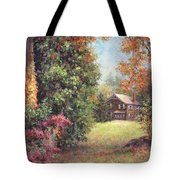 Blazing Ivy Tote Bag