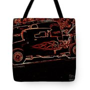 Blazing Out Tote Bag