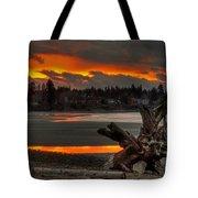 Blazing Sunset II Tote Bag