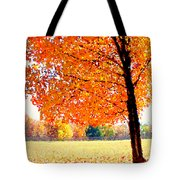 Blazing Tree Tote Bag