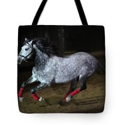 Blazzing Horse Tote Bag