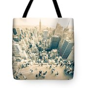 Bleached Manhattan Tote Bag