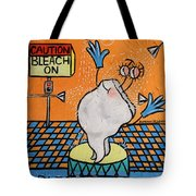 Bleached Tooth Tote Bag