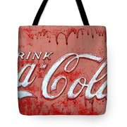 Bleeding Coke Red Tote Bag