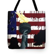 Bleeding For Freedom Tote Bag