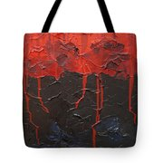 Bleeding Sky Tote Bag by Sergey Bezhinets